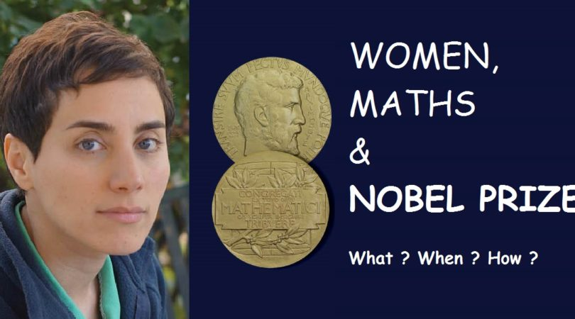 Woman, Maths, & Nobel Prize – A Rare Combination First time