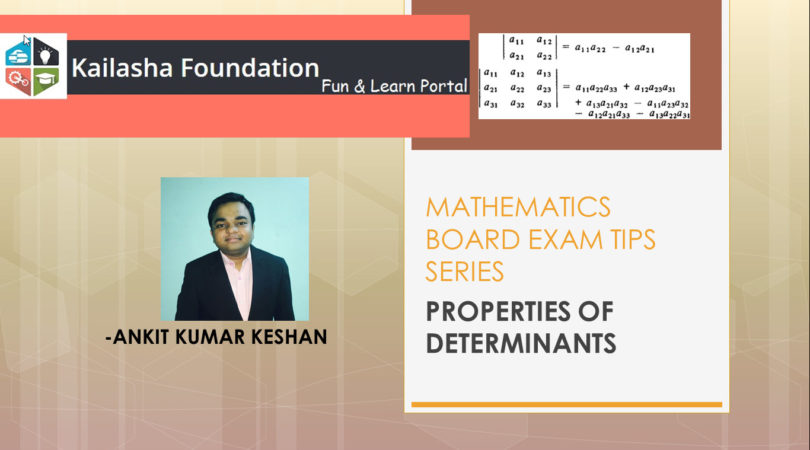 Determinants: 8 questions to give you a complete boost