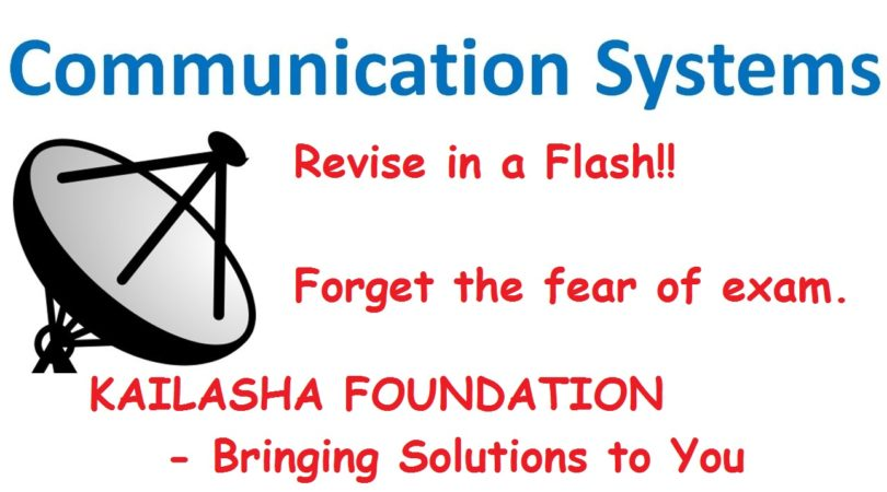 COMMUNICATION SYSTEMS: AN IGNORED CHAPTER IN CLASS XII PHYSICS