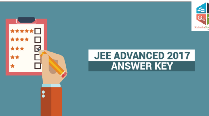 JEE ADVANCED 2017 Answer Key Paper 1 & Paper 2 both Updated