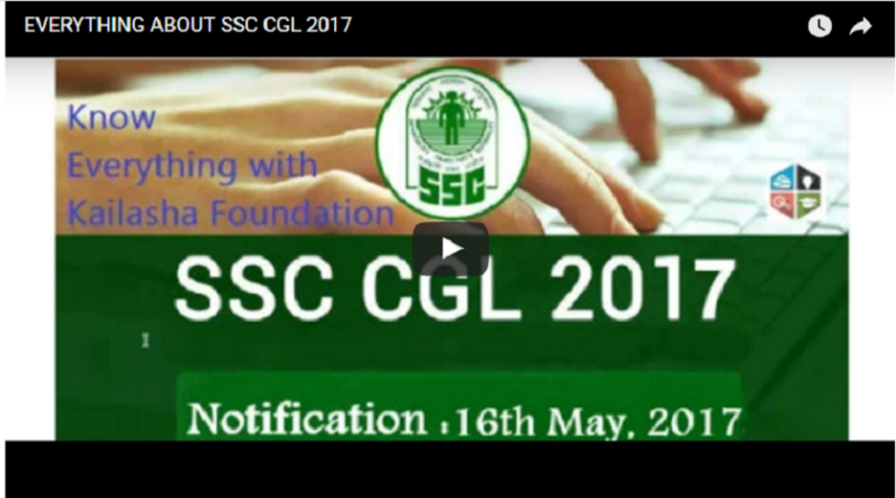 SSC CGL 2017 – All You Need To Know