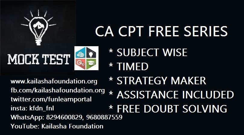 CA CPT MOCK TEST SERIES