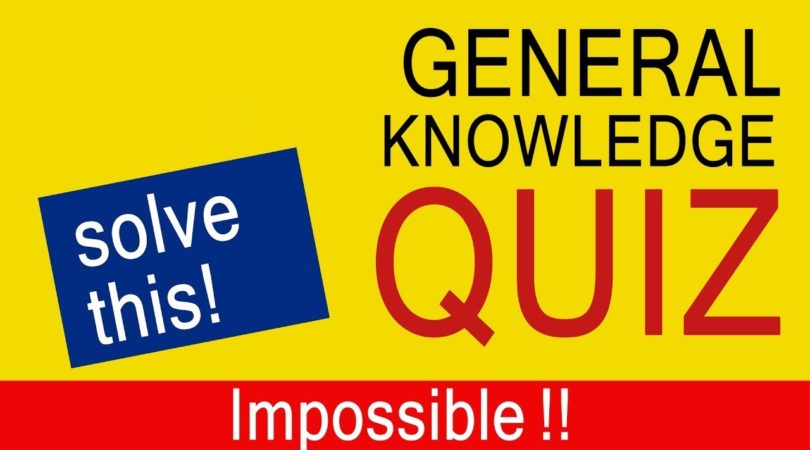 DAILY GK COURSE QUIZ 97: 10 Questions to tease your Brain