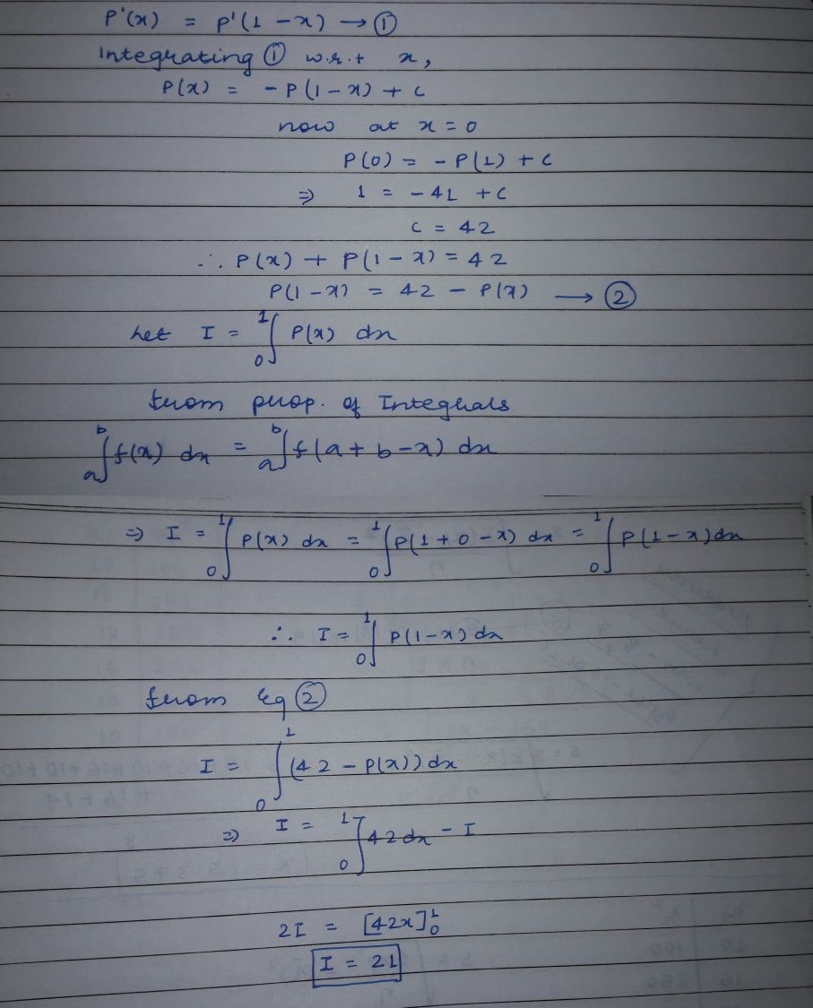 JEE 2010 solution maths