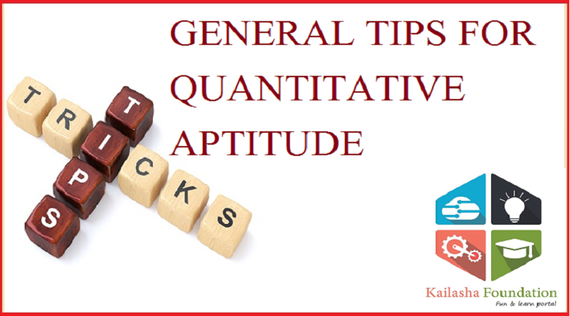 FORMULA & TRICKS FOR QUANTITATIVE APTITUDE- Part 2