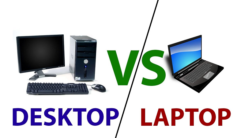 DESKTOP vs. LAPTOPS – What should one opt?