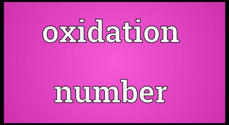 Rules to Calculate Oxidation Number
