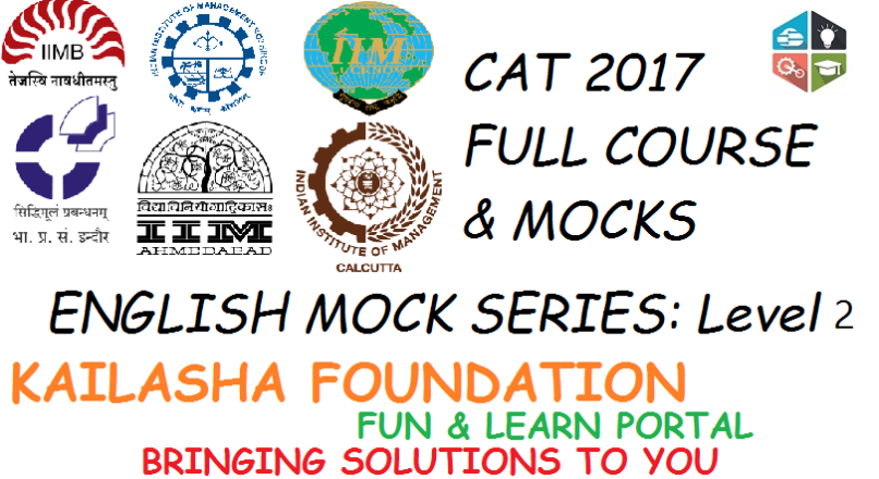 CAT ENGLISH MOCK 3 : ACTUAL CAT FEELING