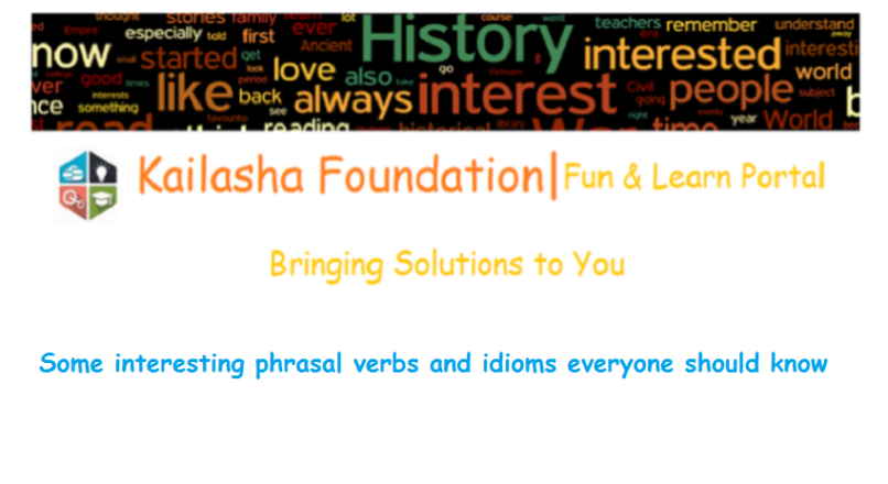 Some interesting phrasal verbs and idioms everyone should know