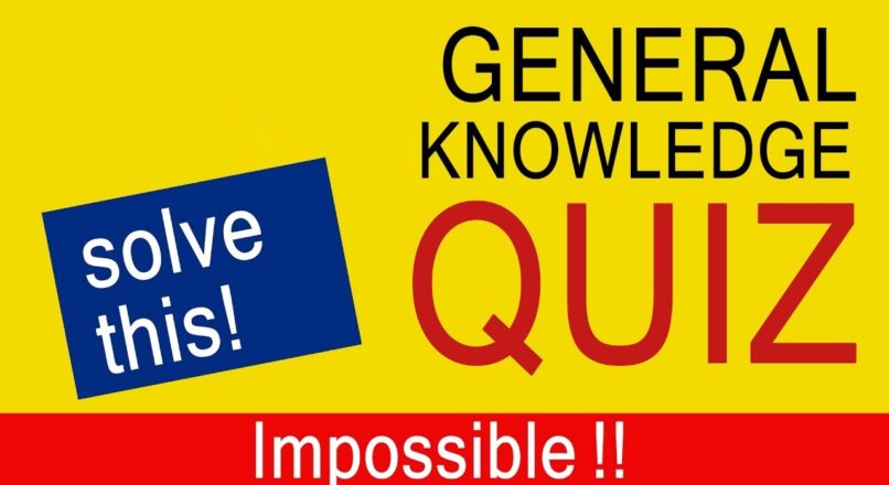 DAILY GK COURSE QUIZ 161: 10 Questions to tease your Brain