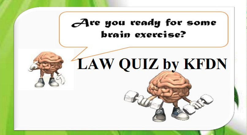 Legal Quiz 5 – Landmark Judgments