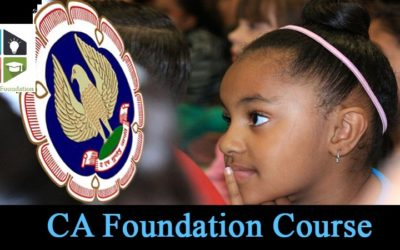 CA FOUNDATION NEW COURSE by KAILASHA FOUNDATION