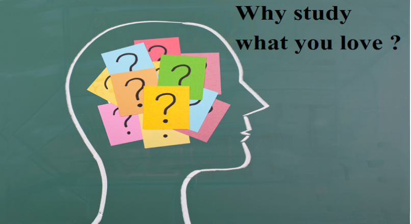Why study what you love ?