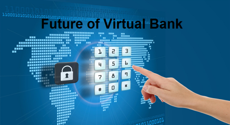 virtual banking The virtual banking is the provision of accessing the banking and related  services online without actually going to the bank branch/office in person.