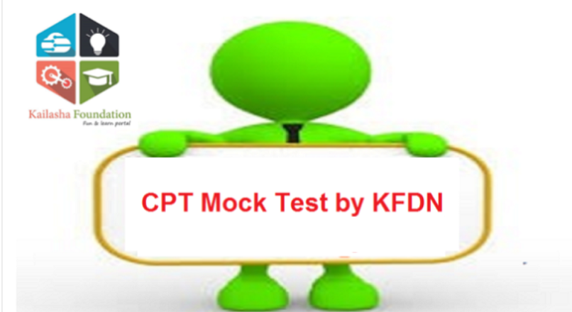 CPT Mock- Test by Kailasha Foundation