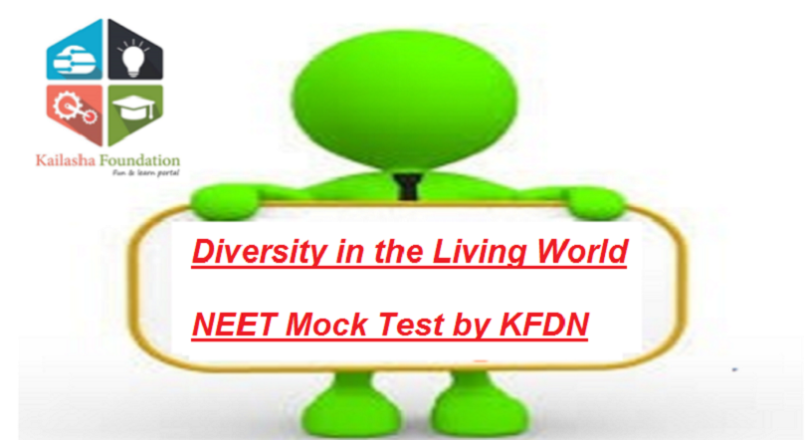 Diversity in the Living World – Mock Test 5 for NEET by KFDN