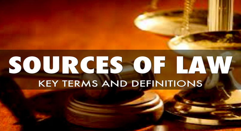 Primary Source of Law : Custom