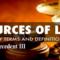 Sources of Law: Precedent III