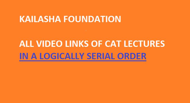 CAT VIDEOS IN SERIAL ORDER