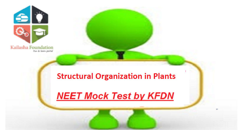 Structural Organization in Plants -Mock Test 2 for NEET by KFDN