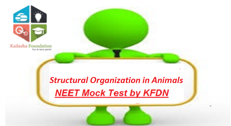 Structural Organization in Animals – Mock Test 1 for NEET by KFDN