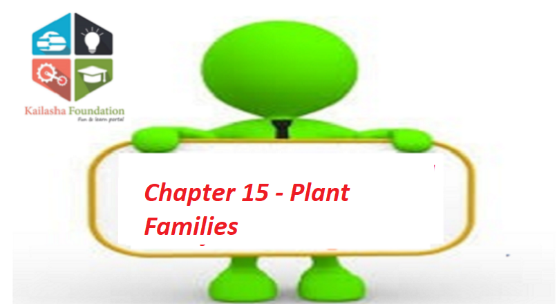 Chapter 15 – Plant Families