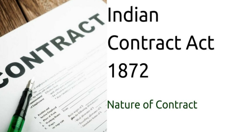 Indian contract act – 1872