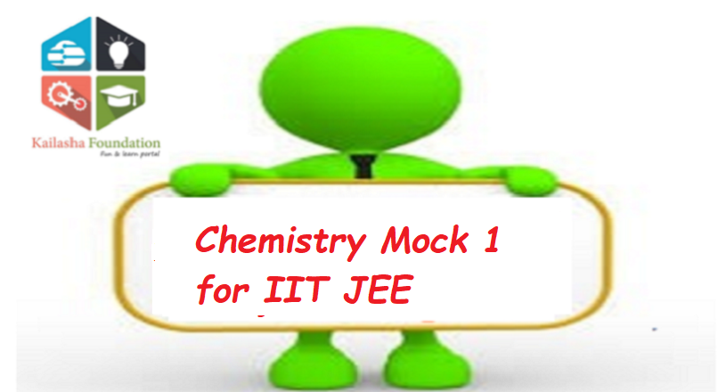 Chemistry Mock 1 for IIT JEE