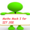 Maths Mock 1 for IIT JEE