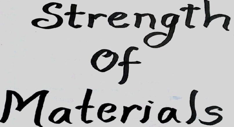 Strength of Material – Chapter 3