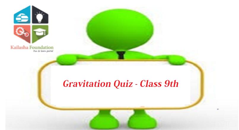 Quiz on Gravitation – Class 9th