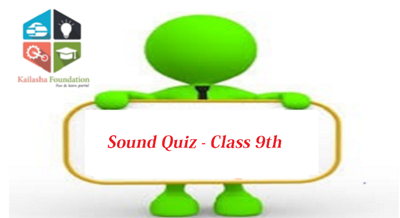 Quiz on Sound – Class 9th