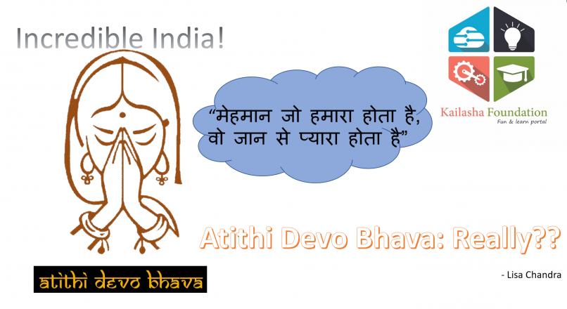 Atithi Devo Bhava: Really? | Kailasha Foundation - Fun