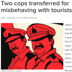 https://timesofindia.indiatimes.com/city/trichy/two-cops-transferred-for-misbehaving-with-tourists/articleshow/66437397.cms